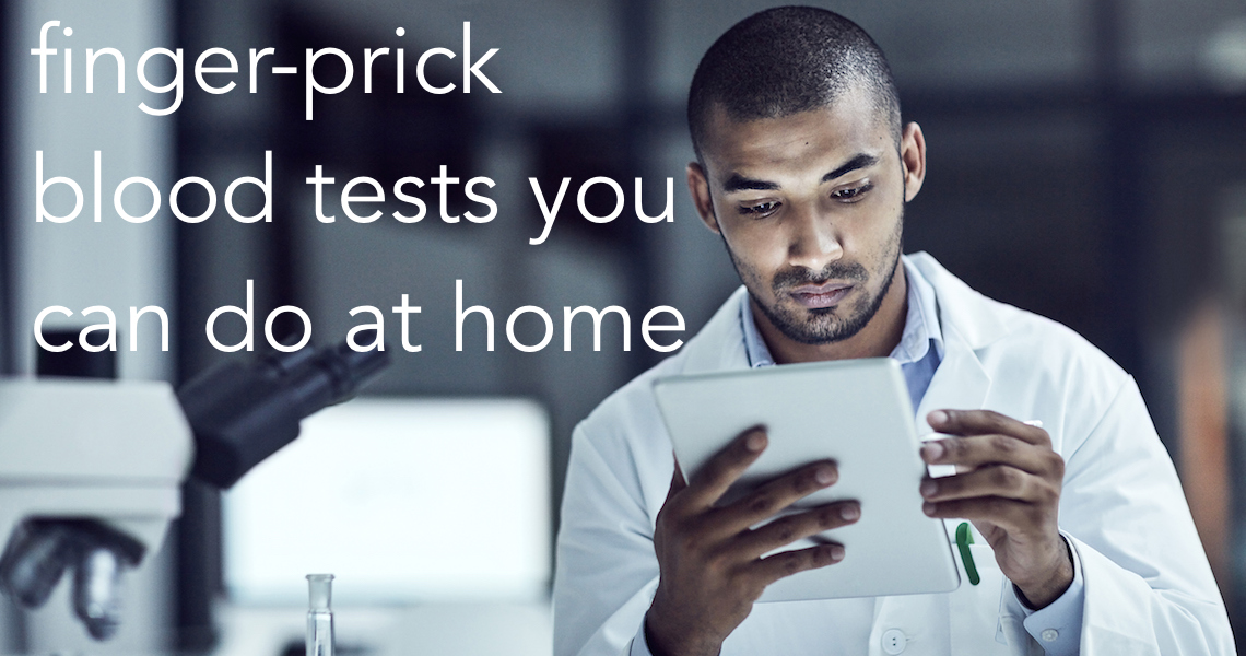 Finger prick blood tests you can do at home