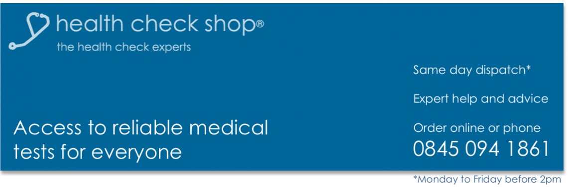 Health Check Shop - access to reliable private blood tests